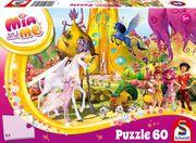 Schmidt Spiele - Puzzle - Mia und me - Phuddles Klebonadeprozessor, 60 Teile