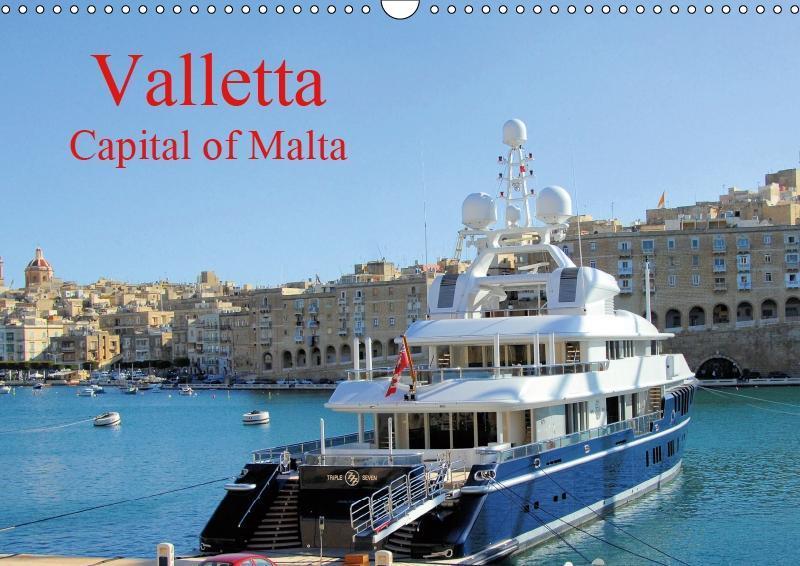 Valletta Capital of Malta (Wall Calendar 2019 D...