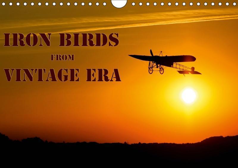 Iron birds from vintage era (Wall Calendar 2019...