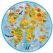 XXL Puzzle Welt, 49 Teile