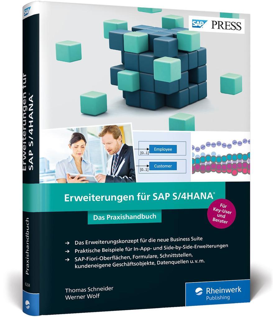 Erweiterungen für SAP S/4HANA als Buch von Thom...