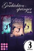 Alle Bände der »Geschichtenspinger«-Trilogie in einer E-Box! (Die Geschichtenspringer )