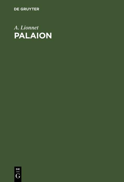 Palaion als eBook Download von A. Lionnet