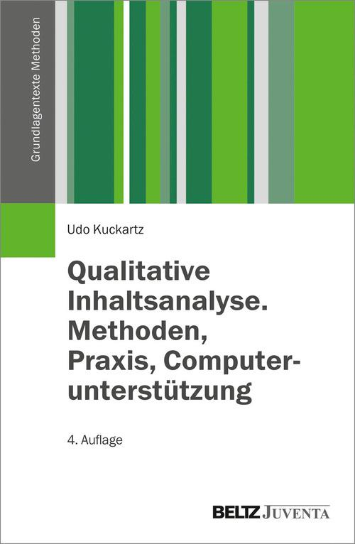 Qualitative Inhaltsanalyse. Methoden, Praxis, Computerunterstützung als eBook