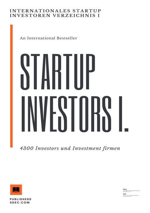 Internationales Startup Investoren Verzeichnis ...