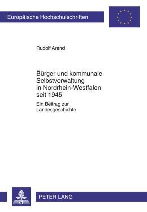 Buerger und kommunale Selbstverwaltung in Nordr...