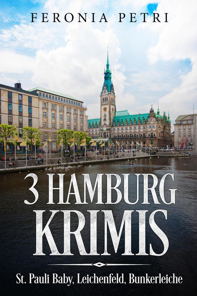 3 Hamburg Krimis als eBook