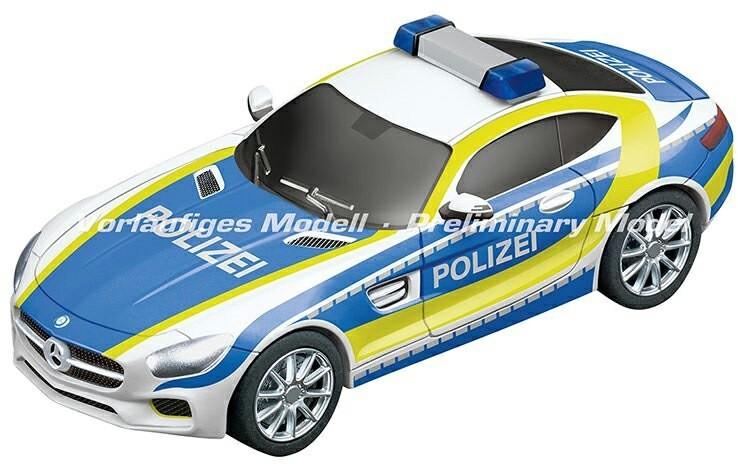 "Carrera GO!! 20064118 Mercedes-AMG GT Coupe /""Polizei/"" Fahrzeug NEU!°"