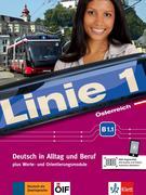 Linie 1 Österreich B1.1. Kurs- und Übungsbuch mit Video und Audio auf DVD-ROM