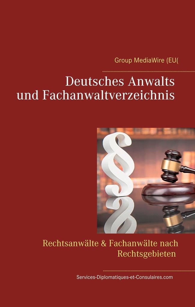 Deutsches Anwalts und Fachanwaltverzeichnis als...