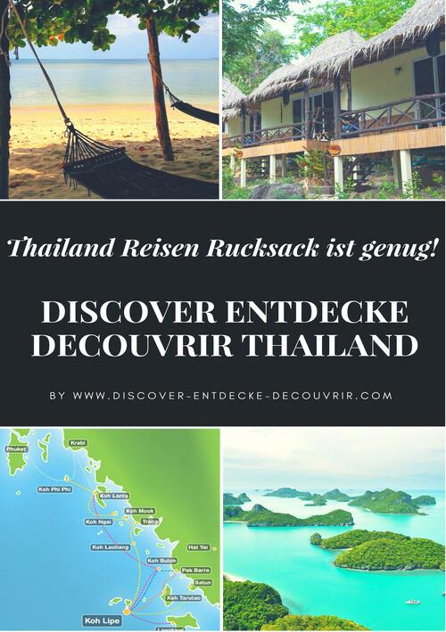DISCOVER ENTDECKE DECOUVRIR THAILAND als eBook ...