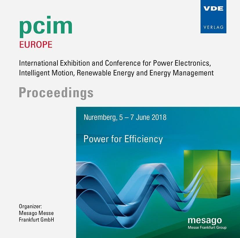 PCIM Europe 2018, 1 CD-ROM