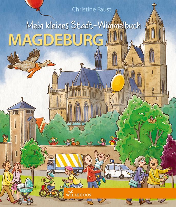 Mein kleines Stadt-Wimmelbuch Magdeburg als Buch