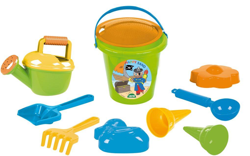Lena - Happy Sand - Sandset Boys II, 10-tlg als Spielwaren