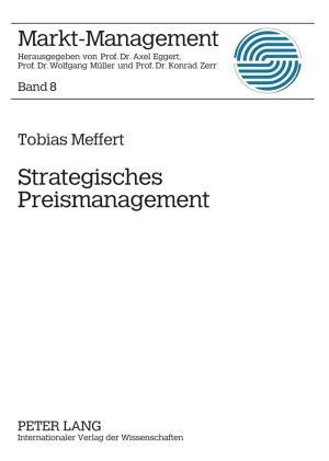 Strategisches Preismanagement als eBook Downloa...