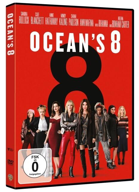 Oceans 8 als DVD