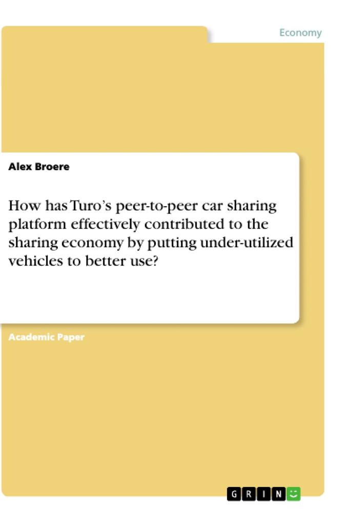 How has Turo´s peer-to-peer car sharing platfor...