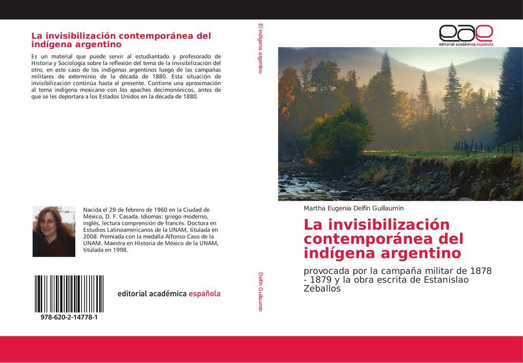 La invisibilización contemporánea del indígena argentino als Buch