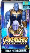Hasbro E0572EU4 - Avengers, Marvel Titan Hero Power FX Thanos, Actionfigur
