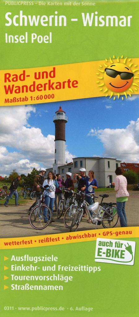 Schwerin - Wismar, Insel Poel 1 : 60 000 als Bu...