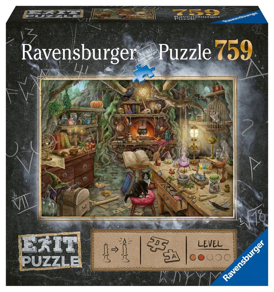 Exit 3: Hexenküche - Puzzle 759 Teile als Spielware