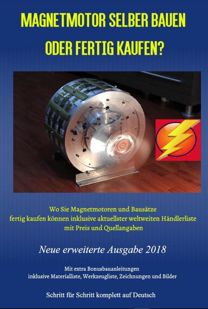 Magnetmotor selber bauen oder fertig kaufen? als eBook epub