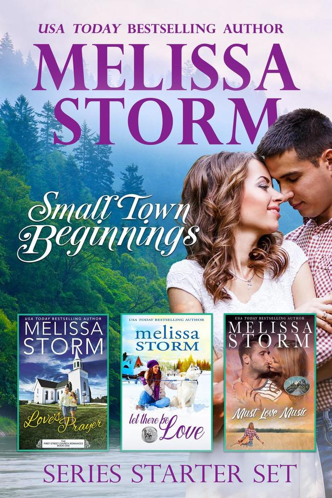 Small Town Beginnings: A 3-Book Sweet Romance C...