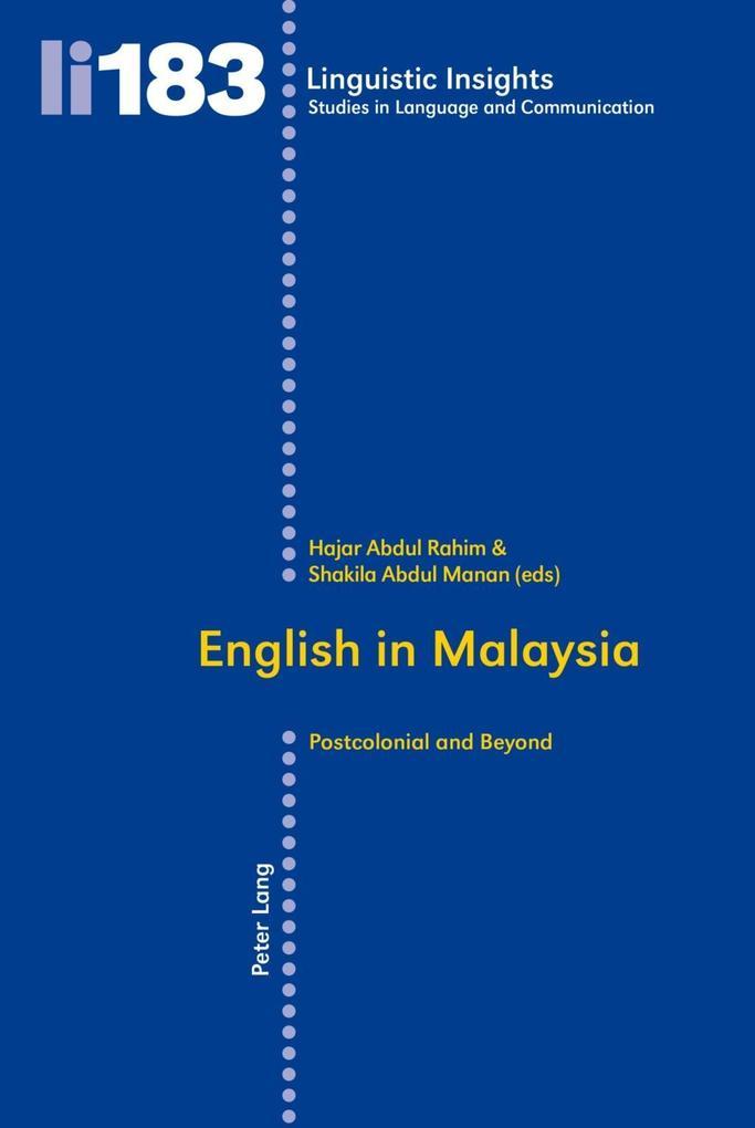 English in Malaysia als eBook Download von