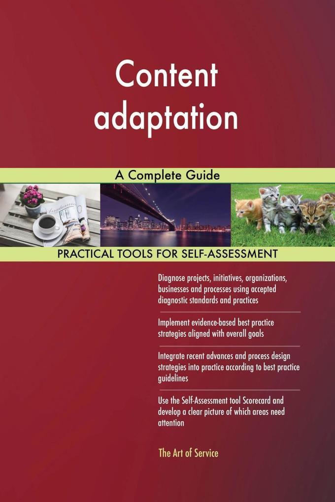 Content adaptation A Complete Guide als eBook D...