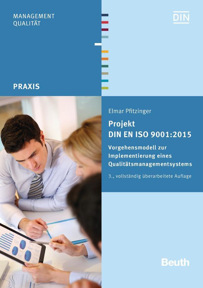 Projekt DIN EN ISO 9001:2015 als eBook Download...