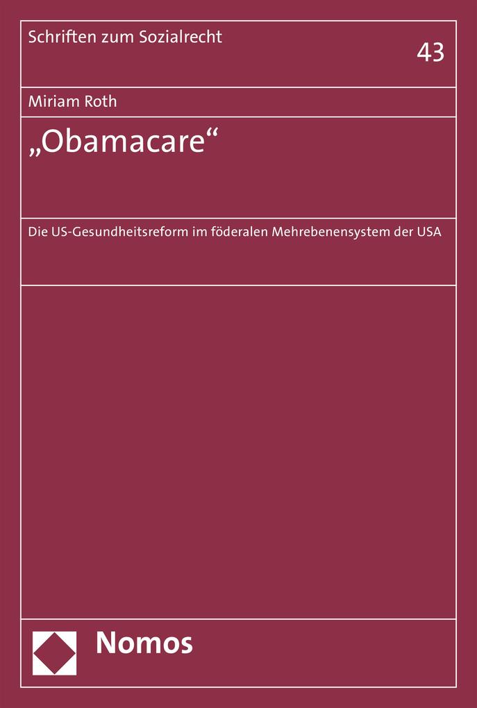 Obamacare als eBook Download von Miriam Roth