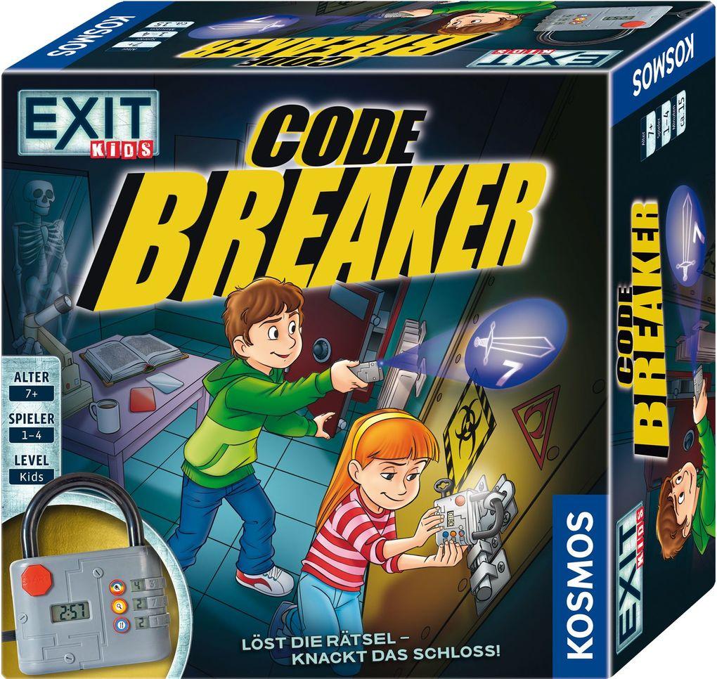 KOSMOS - EXIT Kids - Code Breaker - Löst die Rätsel und knackt das Schloss! als sonstige Artikel