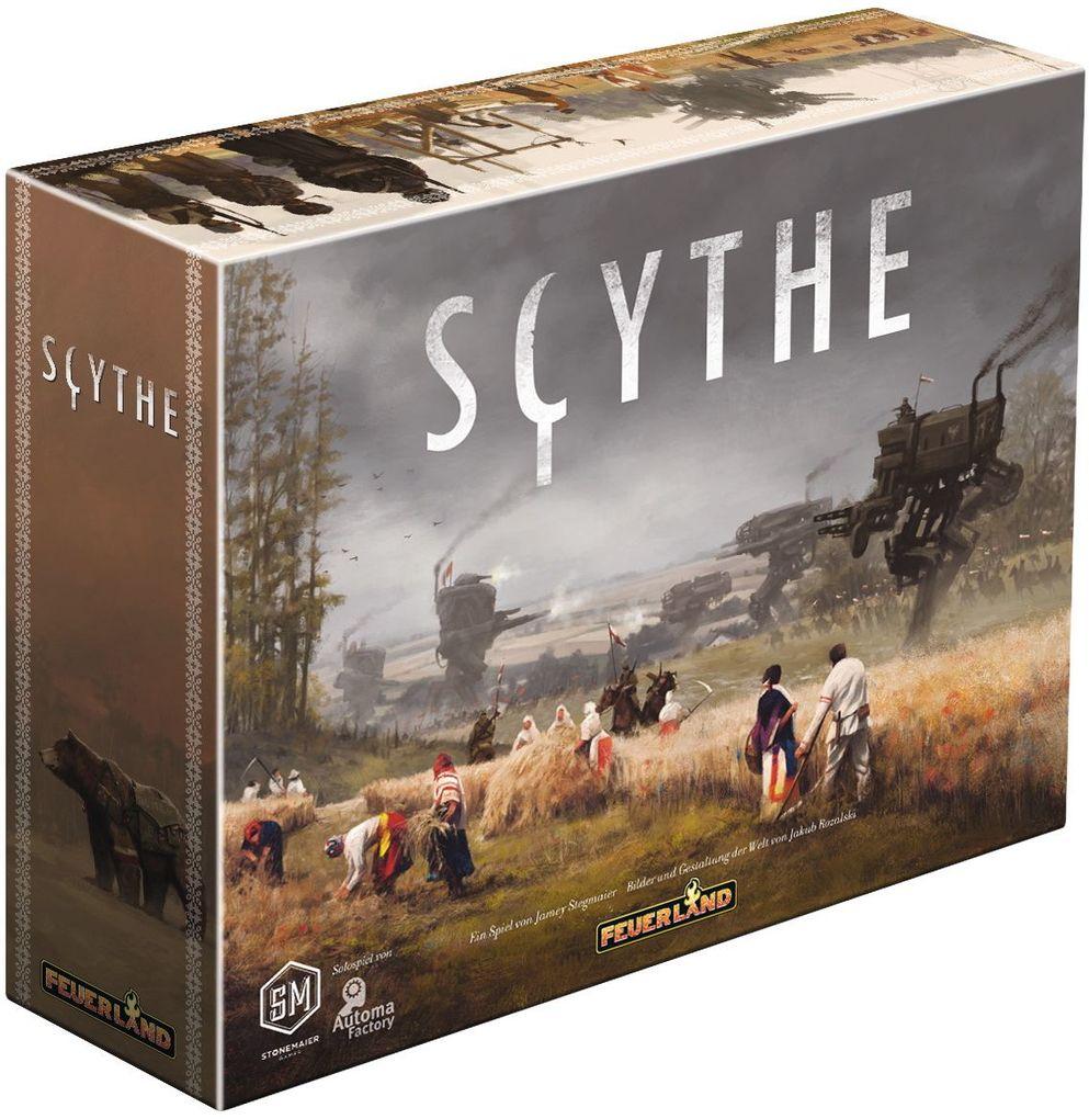 Feuerland Spiele - Scythe als Spielware