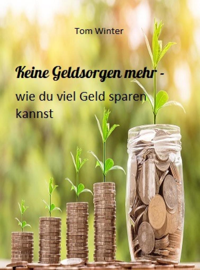 Keine Geldsorgen mehr - wie du viel Geld sparen...