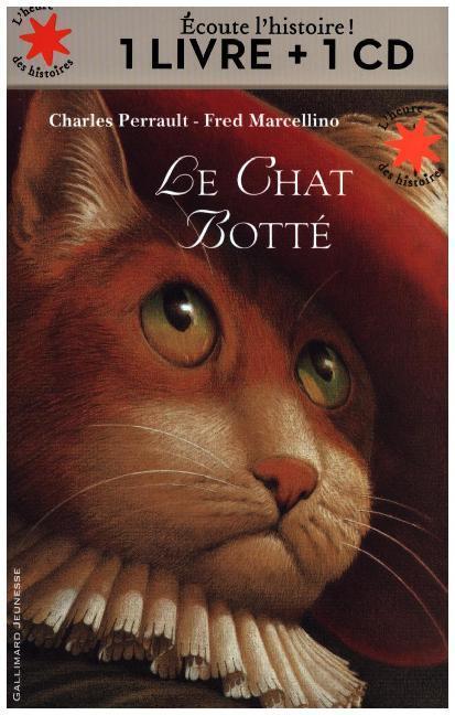Le chat botté livre, m. Audio-CD als Buch von C...