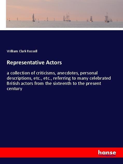 Representative Actors als Buch von William Clar...