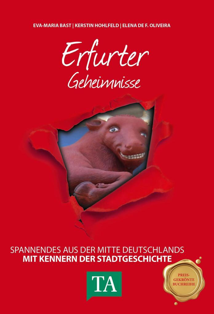 Erfurter Geheimnisse als Buch von Eva-Maria Bas...