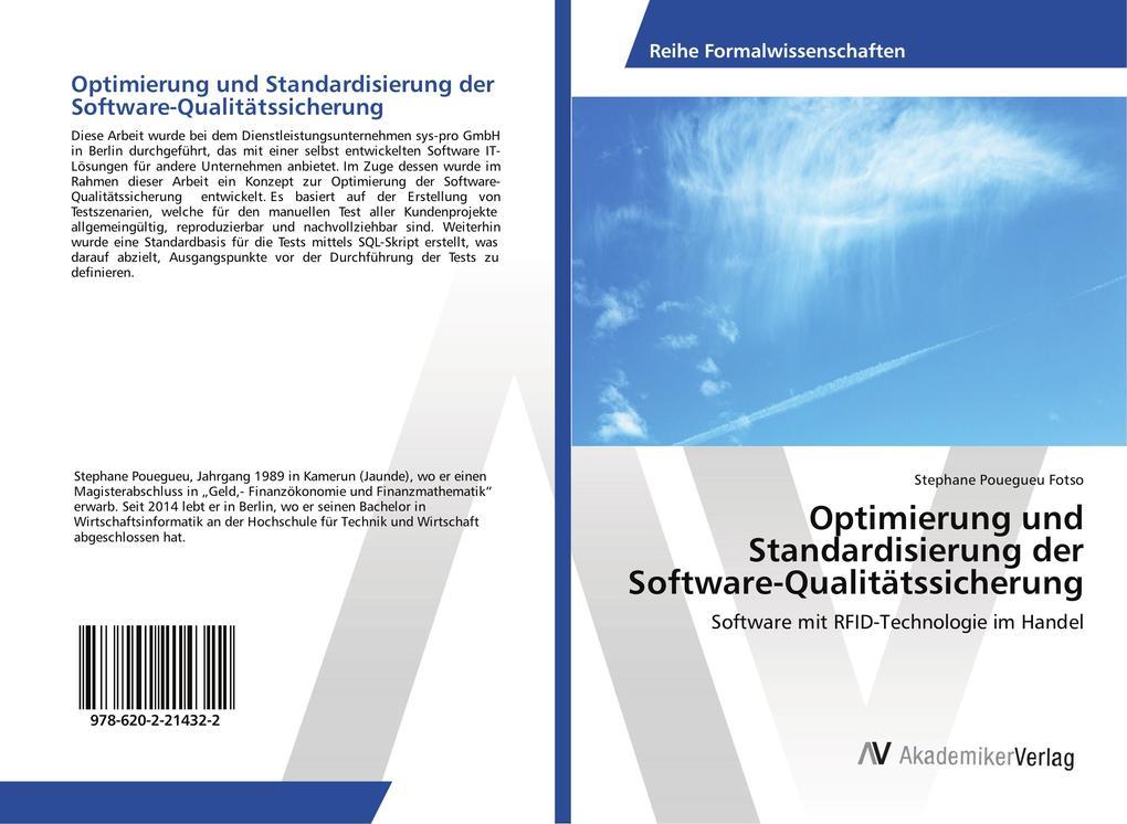 Optimierung und Standardisierung der Software-Q...