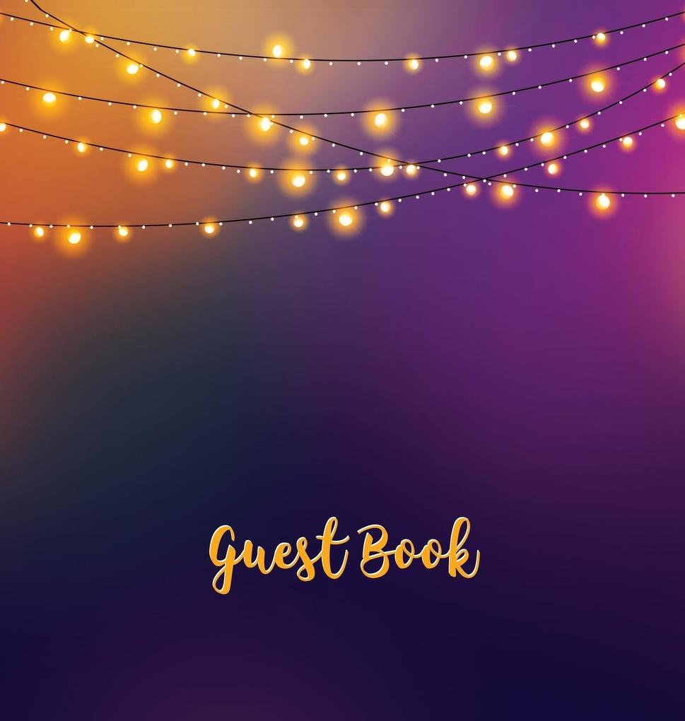 Guest Book (HARDCOVER), Party Guest Book, Birth...