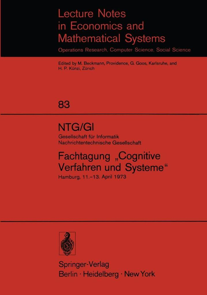 NTG/GI Gesellschaft fur Informatik Nachrichtent...