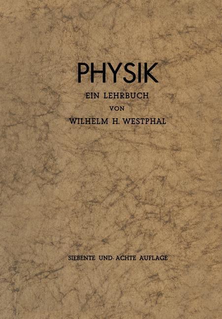 Physik als eBook Download von Wilhelm H. Westphal
