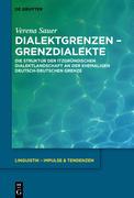 Dialektgrenzen - Grenzdialekte