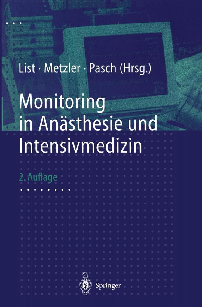 Monitoring in Anasthesie und Intensivmedizin al...
