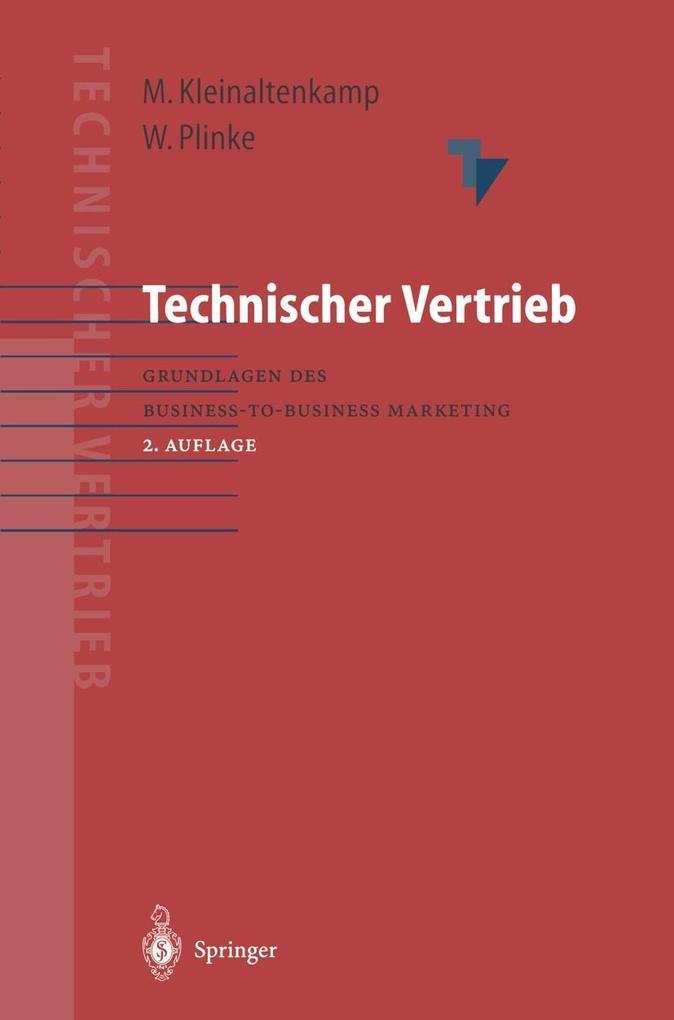Technischer Vertrieb als eBook