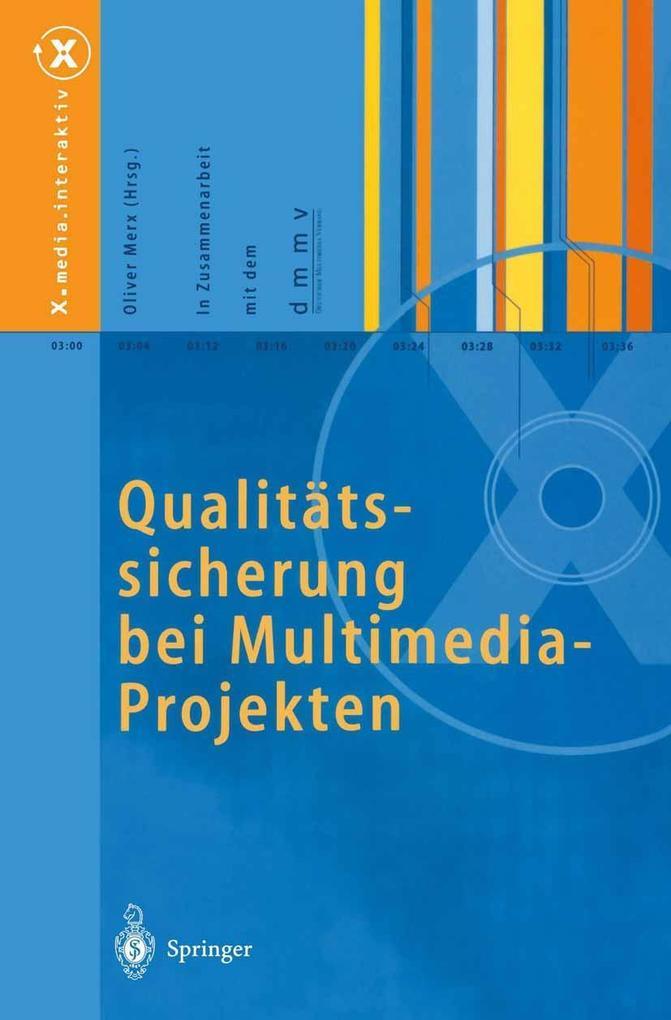 Qualitatssicherung bei Multimedia- Projekten al...