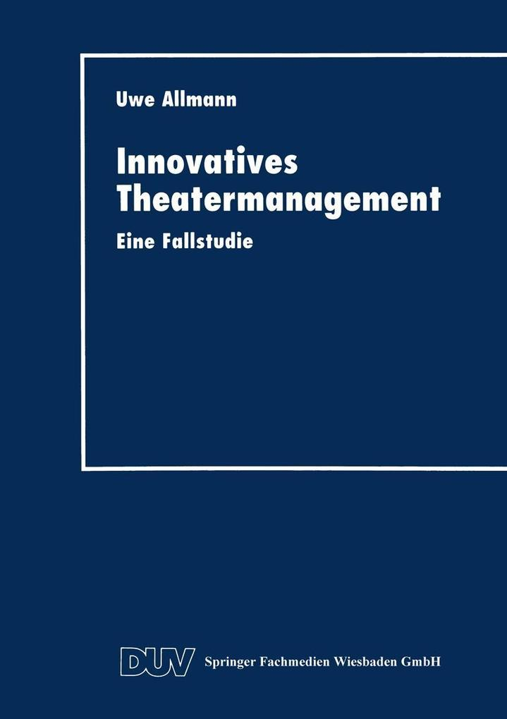 Innovatives Theatermanagement als eBook Downloa...