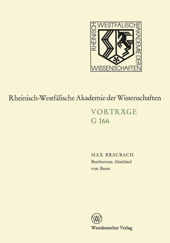 Beethovens Abschied von Bonn als eBook Download...