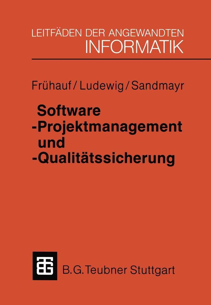 Software-Projektmanagement und -Qualitatssicher...