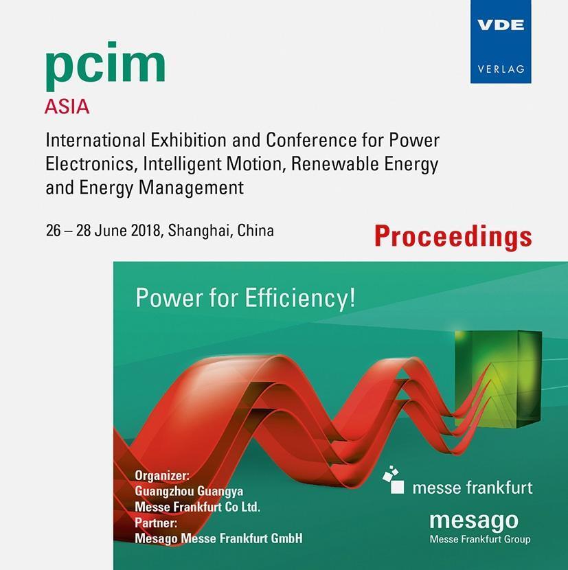 PCIM Asia 2018, 1 CD-ROM