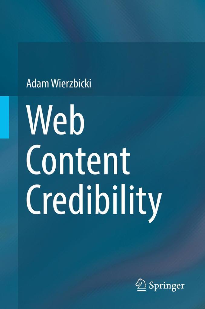 Web Content Credibility als eBook Download von ...
